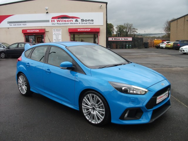 2017 FORD FOCUS RS 2.3 ECOBOOST (350PS) NITROUS BLUE, MILEAGE 5K- FRESH INTO STOCK @hwilsoncars #FordFocusRS @forduk 📲 https://t.co/YUu34IGDfp https://t.co/HkDtedQ3oJ