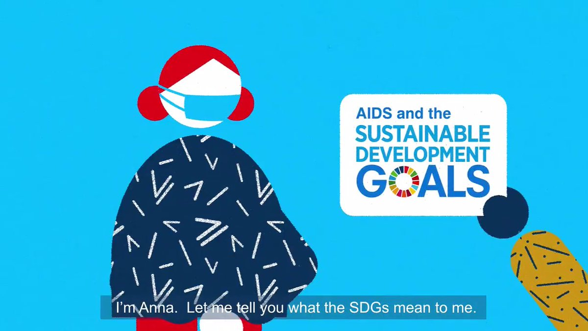 The world cannot afford to let #COVID19 derail the progress made towards ending AIDS and achieving the #GlobalGoals.   Millions of people like Anna depend on it.