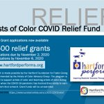 Image for the Tweet beginning: Relief funding support for BIPOC