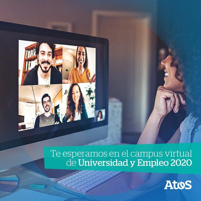 Te esperamos este 22 y 23 en el campus virtual de Universidad y Empleo...