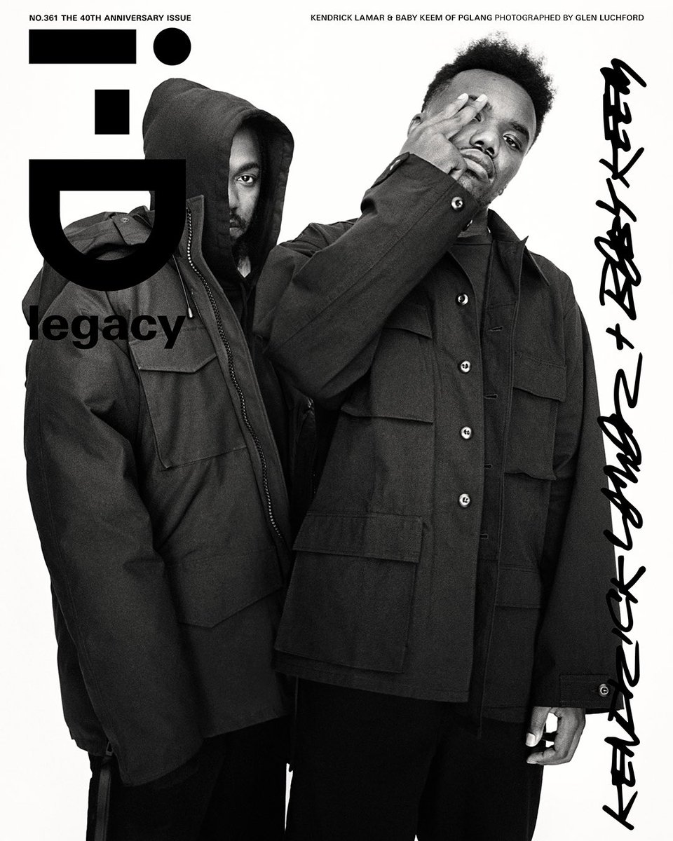 Cover of i-D MAG