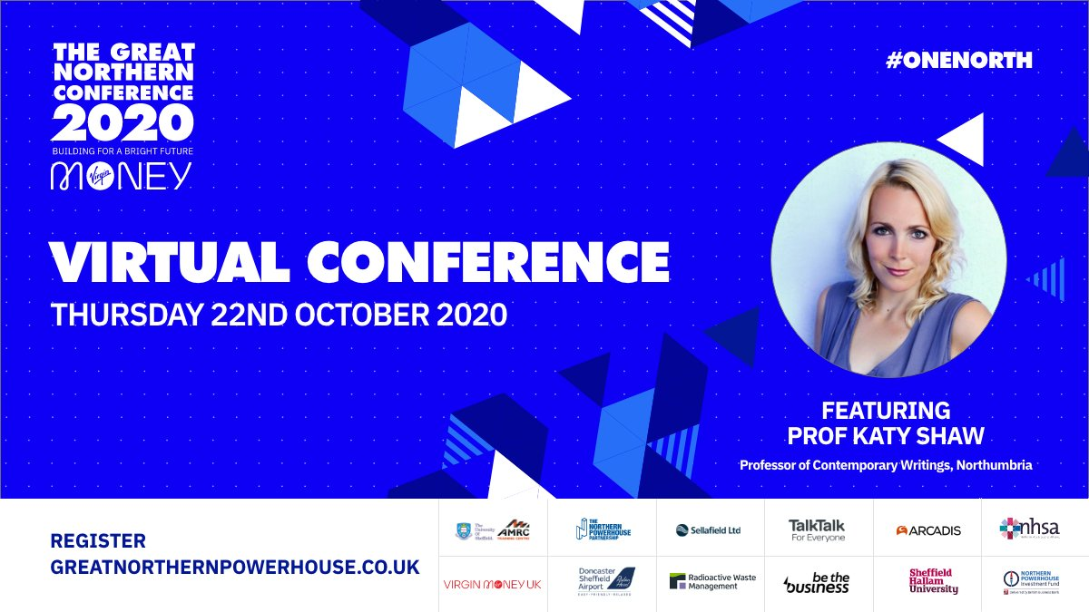 @ProfKatyShaw from @NorthumbriaUni joins our breakout panel discussing the importance of a culture strategy Thursdays Great Northern Conference Register at greatnorthernpowerhouse.co.uk #onenorth @NP_Partnership @YPBiz