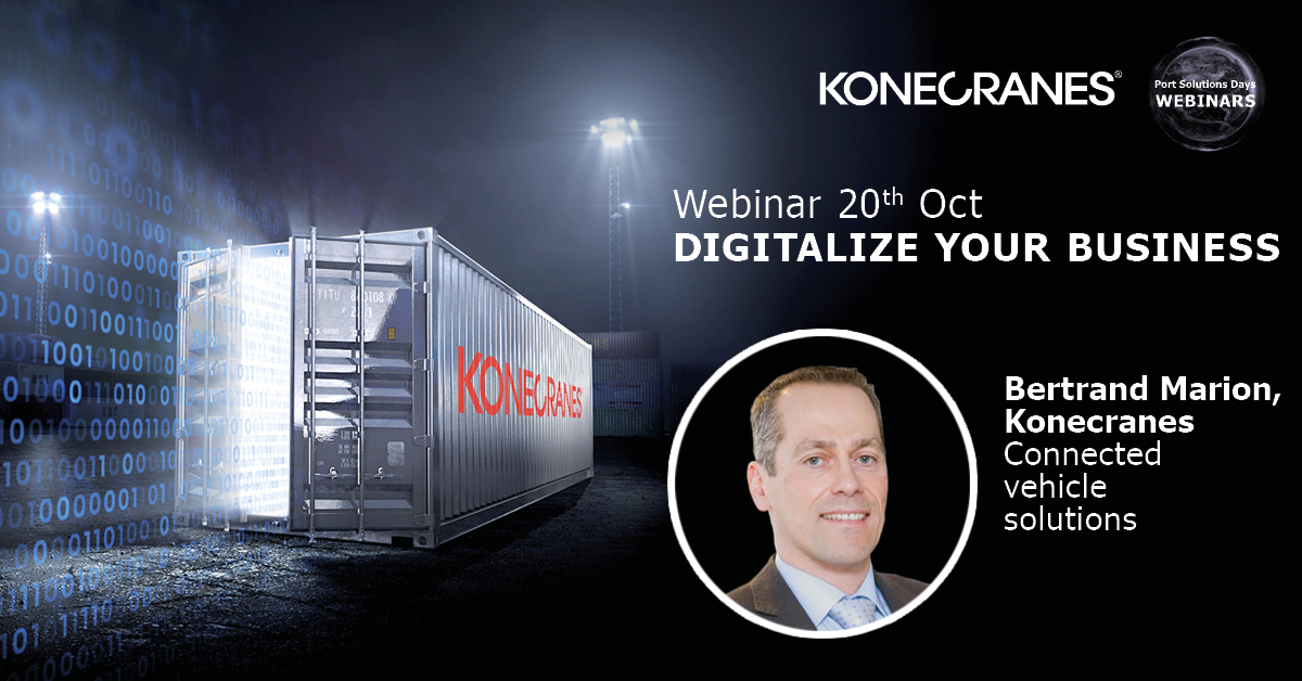 Bertrand Marion from @KCLiftTrucks joins our #webinar happening tomorrow. In the webinar we explain how you can harness the power of your data and improve your operations. Be sure not to miss it. REGISTER NOW! https://t.co/8hOWKawr4O #portsolutionsdays https://t.co/zA1C9XEftI