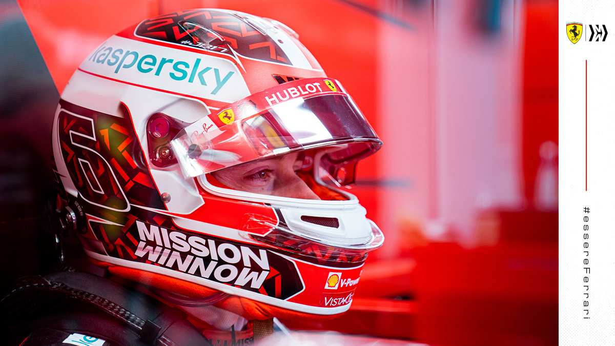 Waiting patiently… It's almost time to go again ⏰  #essereFerrari 🔴 @MissionWinnow https://t.co/pSDcx4E9WC
