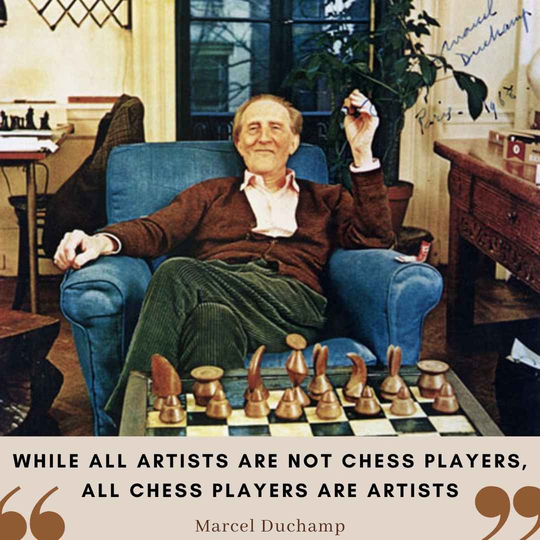 "test Twitter Media - ""While all artists are not chess players, all chess players are artists."" Do you agree with the father of Dada? Chess was Marcel Duchamp's lifelong obsession and he even left art to dedicate himself to playing.  #chess #Duchamp #quoteoftheday https://t.co/6ClUhbU5QE"