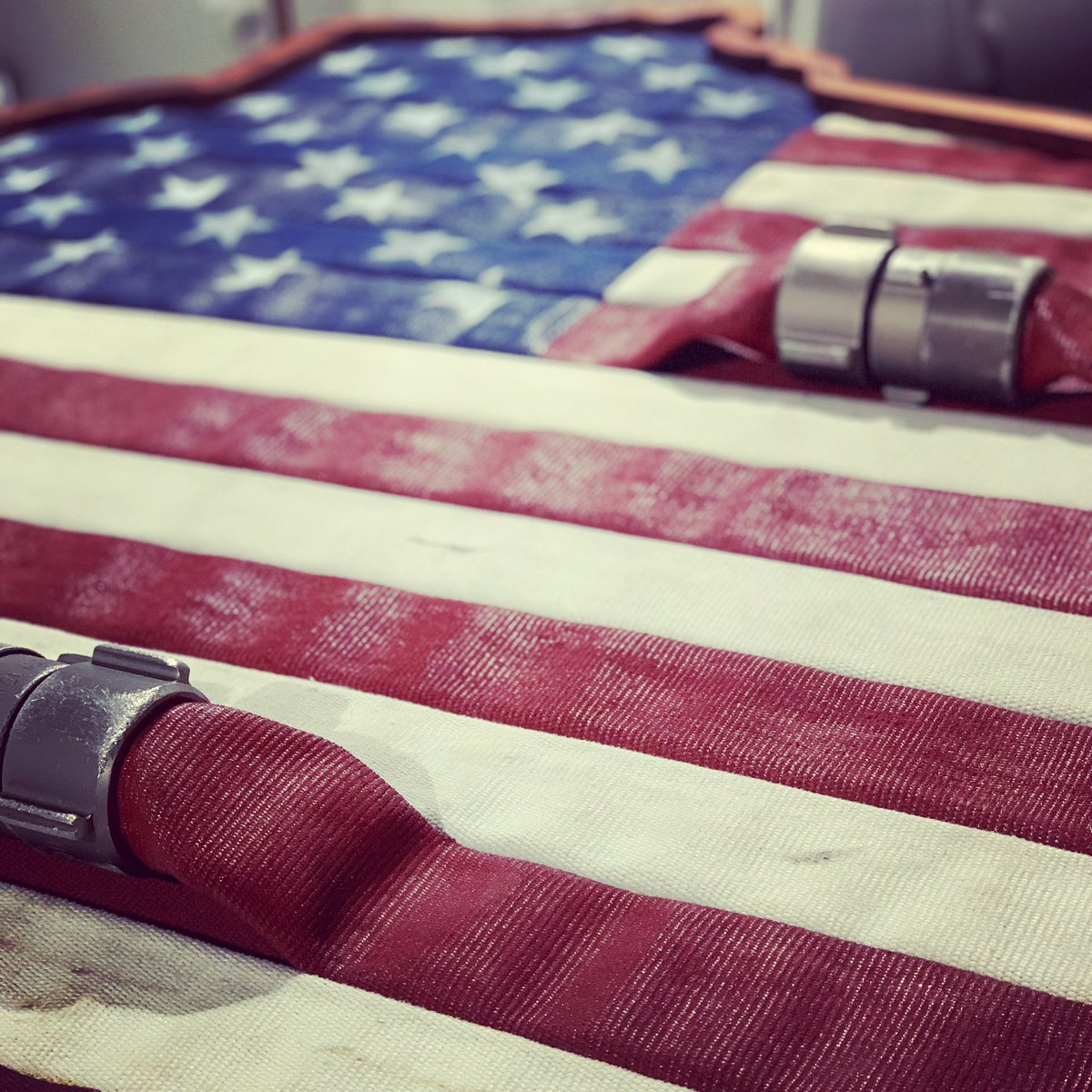 My favorite item in my store is the USA and Wisconsin shaped flags made from fire hose. Super unique item you won't find anywhere else!   https://t.co/tCNAqOz5k2  #wisconsin #gifts #christmas #firefighter #mondaythoughts #fortune500 #mancave #ad #AmazonSmile #amazon #firehoseflag https://t.co/g455RPI4bw