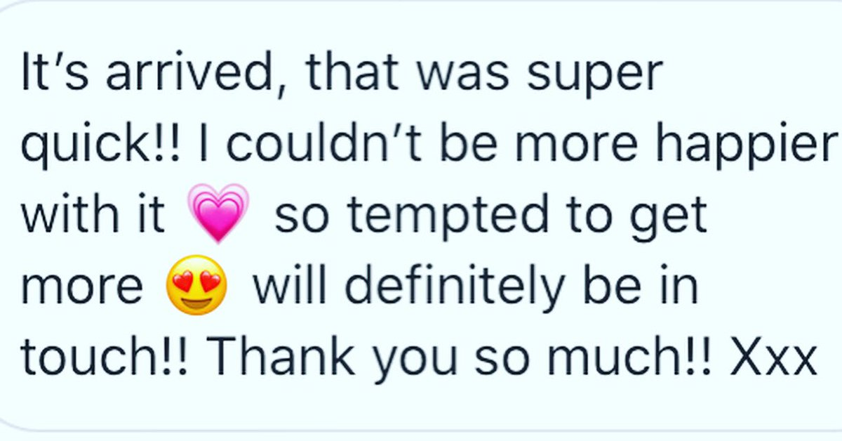 I always appreciate feedback! I'm so grateful when my customers take the time to give me a shoutout or write a review... this is invaluable to the little handmade businesses out there! #etsy #review #PositiveVibes #hustle #handmade https://t.co/f8fVGok47z
