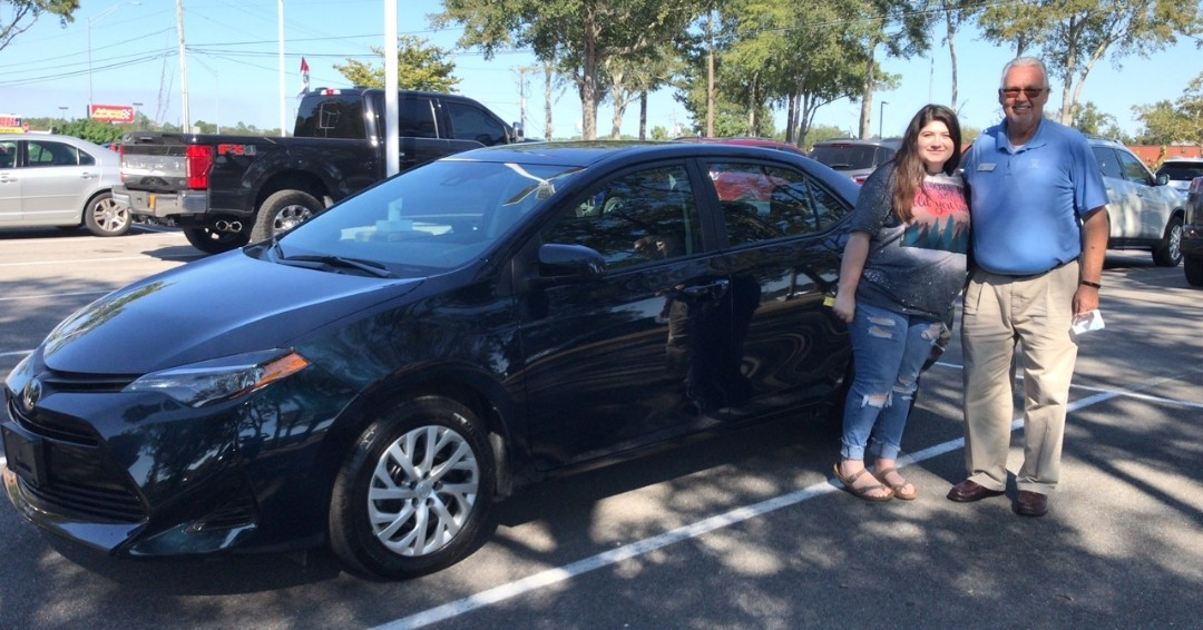 Congratulations, Caroline Jarrell, on the purchase of your new 2019 #Toyota #Corolla! Thank you for choosing Pat Peck Honda. #AcceleRide https://t.co/yKBRIsJHKc