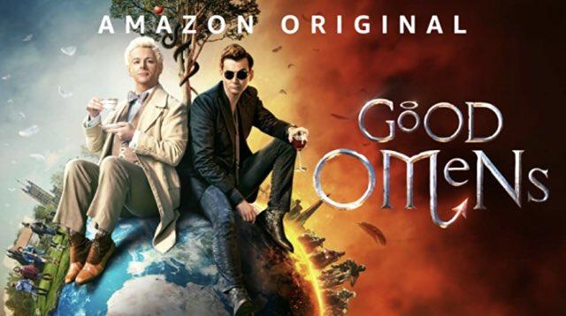 Salut les tweetos j'ai trop kiffer cette série. #GoodOmens un Best marrant beaux effets spéciaux scénarios bien tournés. #kiff #serie #AmazonPrime . https://t.co/H7BgxrKXdl