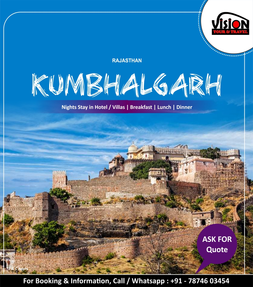 Enjoy Your Weekend / Holiday With Family / Friends / Groups at Kumbhalgarh   Night Stay   Breakfast   Lunch    Dinner  Vision Tour & Travel, Call / Whatsapp : 7874603454 WhatsApp. https://t.co/Ons3ULxthi  #visiontourtravel #promoteaddaindia #resortstay #Kumbhalgarh #tentstay https://t.co/B462tNfozh
