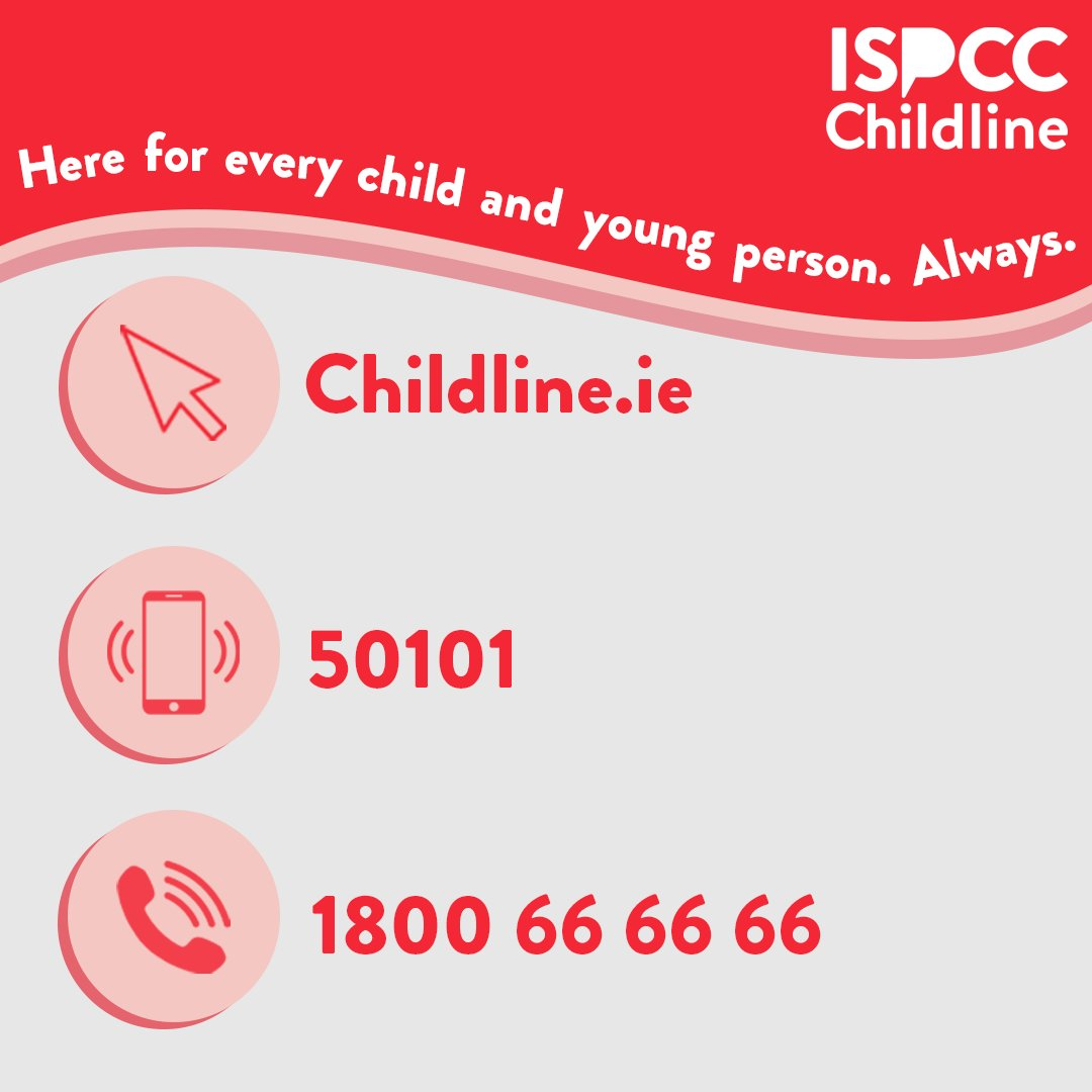 If you're worried, anxious, scared or just want someone to talk to - Childline is here 24 hours a day, every day.  Chat online at https://t.co/PiuiKeiajy Free text 50101 Or free phone 1800 66 66 66 https://t.co/Ji9bdxiEeS