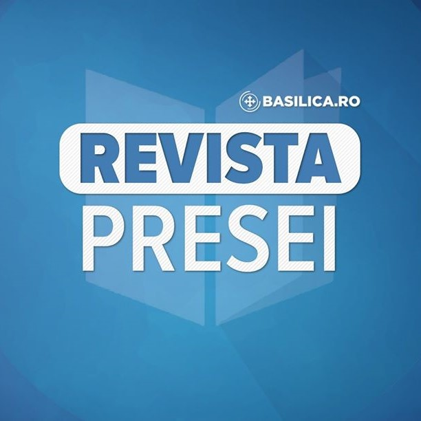 "☑️Săptămâna în imagini https://t.co/QxaopJ9joX ☑️Campania ""10 mari filantropi"" https://t.co/Rbc4d5iY8S ☑️ANP: posturi vacante de preot https://t.co/aAlPcWTdTt ☑️Profil de filantrop: Pr. Lucian Roșu - partea a 3-a https://t.co/THZzGZFnzw https://t.co/FittFysbEq"