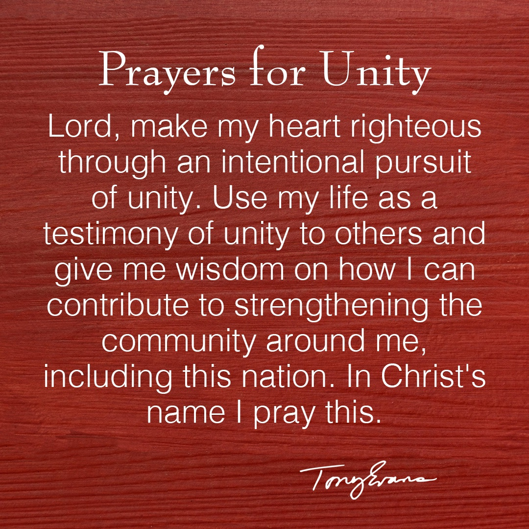 Join me in praying for #unity https://t.co/wvog3SlVbl