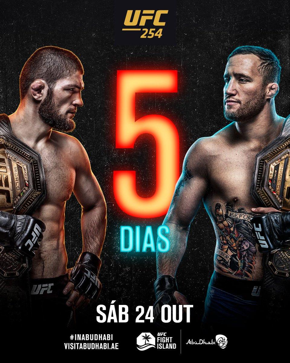 Está chegando a hora, apenas um pode sair como campeão 🏆 #UFC254  [ #InAbuDhabi @VisitAbuDhabi ] https://t.co/VMrEoJPdrs