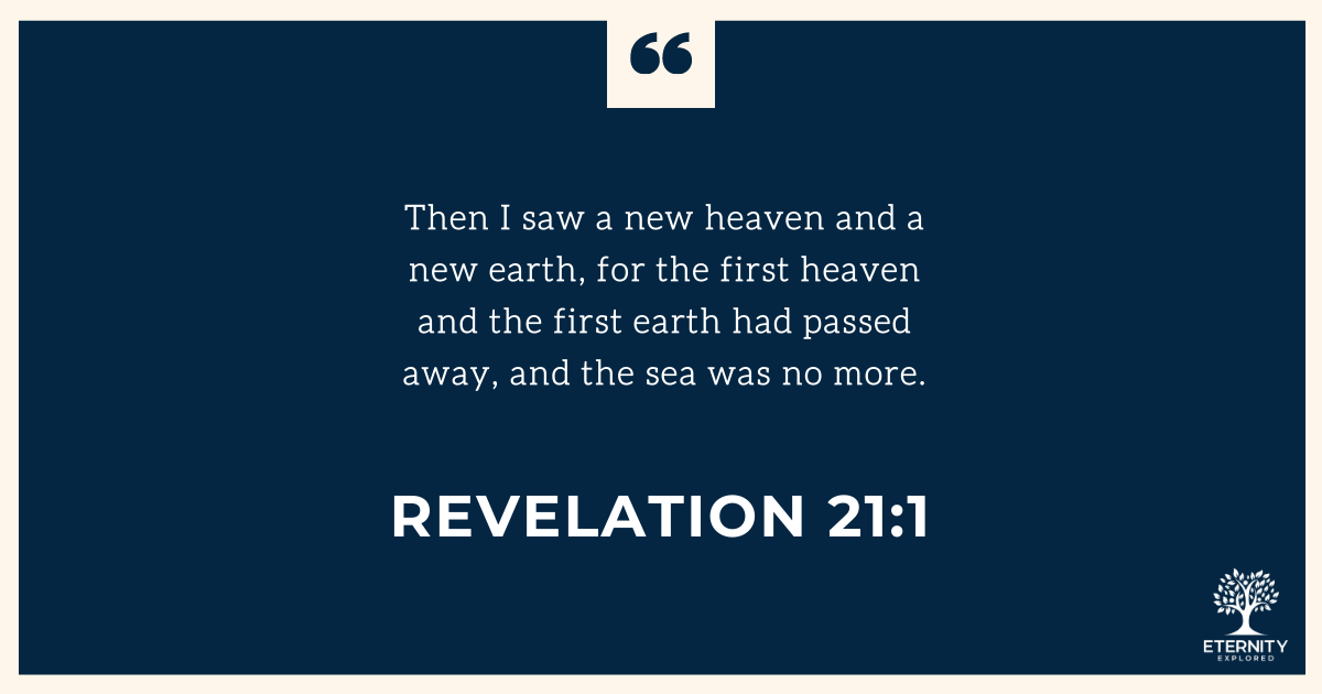"🌟 ""Then I saw a new heaven and a new earth, for the first heaven and the first earth had passed away, and the sea was no more.""  Revelation 21:1. https://t.co/Ve8TwBnYDb . #revelation #new #future #hope #promise #wonderful #amazing https://t.co/SUXvXprUYq"