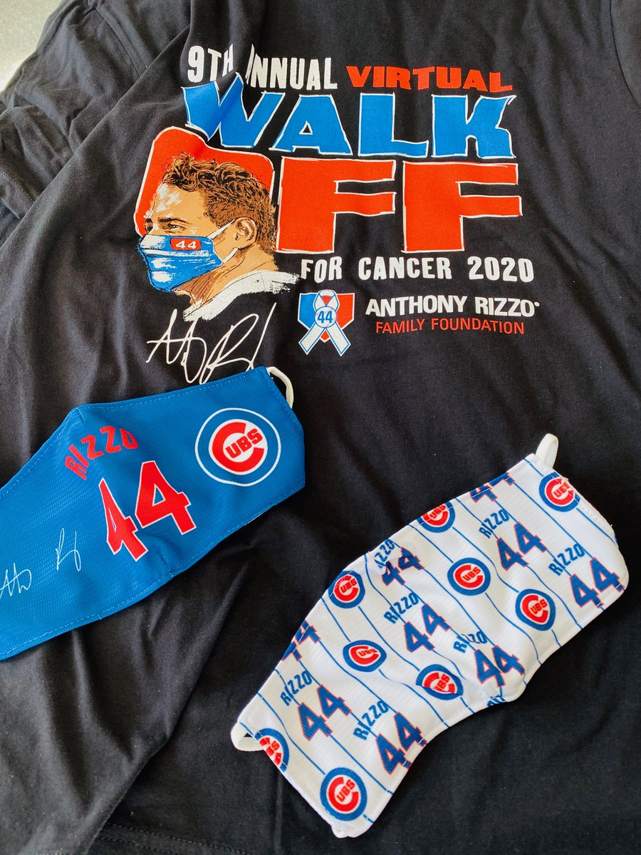 Come Walk virtually with my family and I and show your support for families battling pediatric cancer. Every registration comes with a shirt, mask and a spot to the pre walk Q&A with yours truly moderated by @thekapman.  #WalkWithRizzo