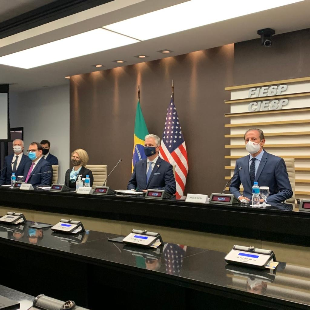 """""""American energy companies are deploying cutting edge technology alongside Brazilian partners to promote Brazil's true economic potential in meeting the world's demand."""" - NSA Robert C. O'Brien"""