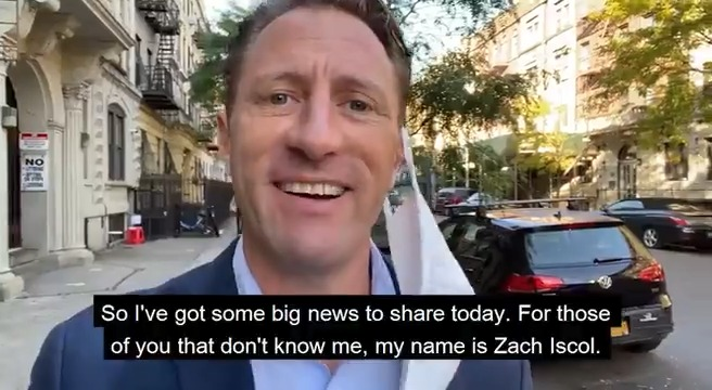 Good news for #NYC @zachiscol  is running for Mayor!!!