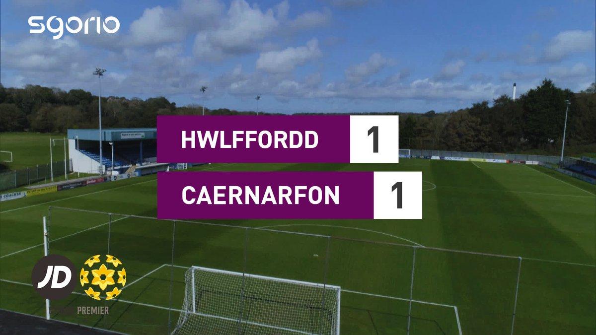 Image for the Tweet beginning: Uchafbwyntiau | Highlights  @HaverfordwestFC 1-1 @CaernarfonTown