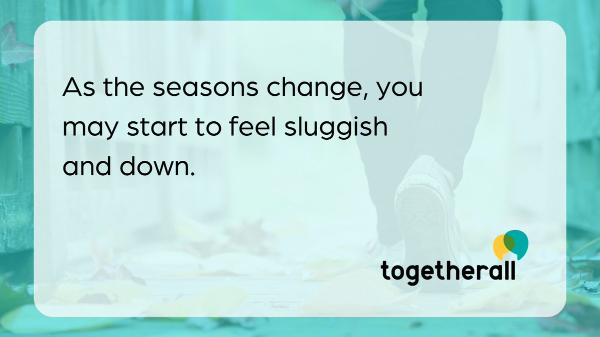 As the nights draw in and the weather gets colder, you may feel demotivated or down. At Togetherall you can share how you're feeling with others, get support & feel better. bit.ly/3ldchiD @togetherallNA
