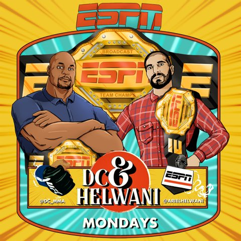 The broadcast team champions of ESPN is back in your life in less than 15 minutes. We discuss Ortega vs zombie, Conor vs Dustin. UFC 254 and how I'm gonna call Khabib's first fight.  We also answer Paul Heyman. This is a great show!!!! https://t.co/nxiVdKUIX0 https://t.co/er2i9GmU7I