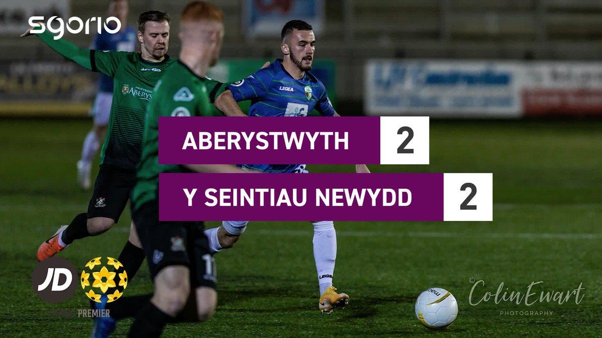 Image for the Tweet beginning: Uchafbwyntiau | Highlights  @AberystwythTown 2-2 @tnsfc