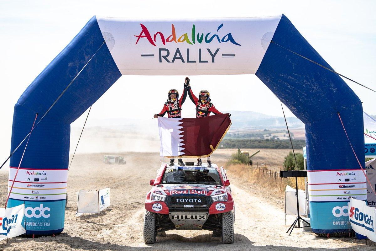 Más de Toyota en el @Andalucia_Rally 2020.  #toyota #toyotagazooracing #bfgandalucia2020 https://t.co/bBn888HnxU