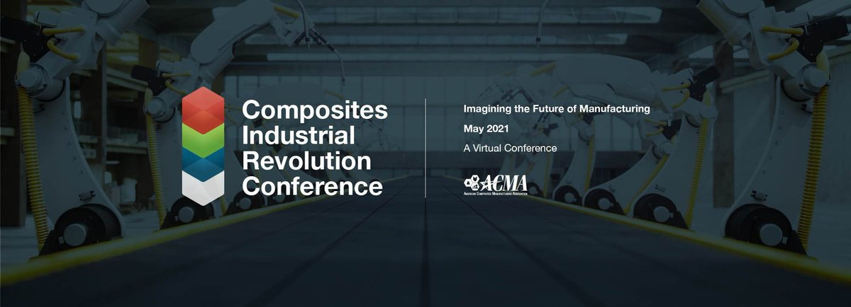 Showcase your company's expertise and innovation to an international audience at #ACMA's new event - the Composites Industrial Revolution Conference -  Sponsorship and exhibit opportunities are available. https://t.co/XAV03ixpnl #composites #education  #manufacturing #CIRC2021 https://t.co/LtnzFspUue