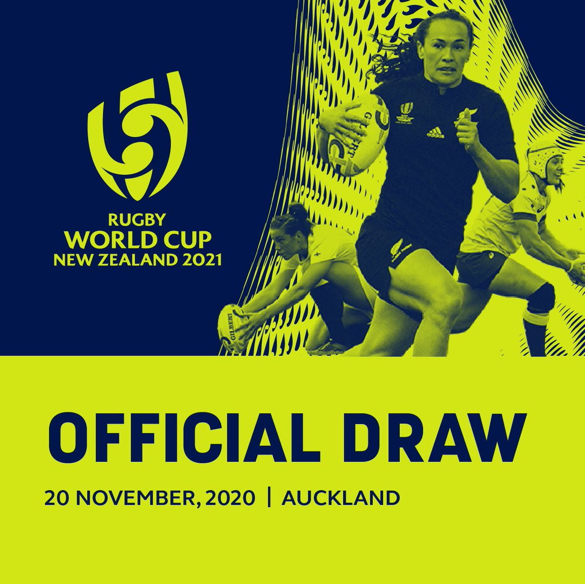 test Twitter Media - ➡️ Rugby World Cup 2021 Draw confirmed for 20 November 2020  ➡️Draw event to be held at SkyCity Theatre in the heart of Auckland  ➡️ RWC 2021 Draw to be live streamed to global audiences via World Rugby digital channels  More here: https://t.co/WmCo0VHb2v https://t.co/ec9LD8EAgA