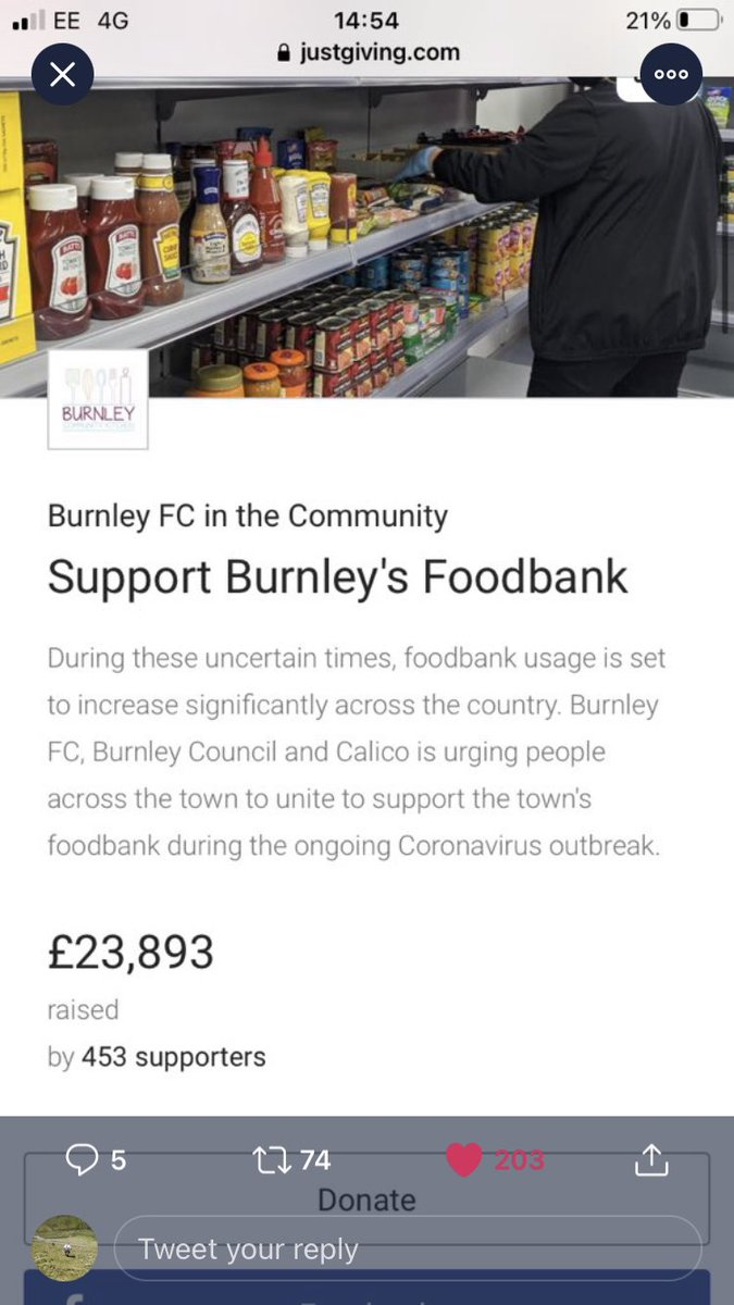Well played #BurnleyFC fans 👏