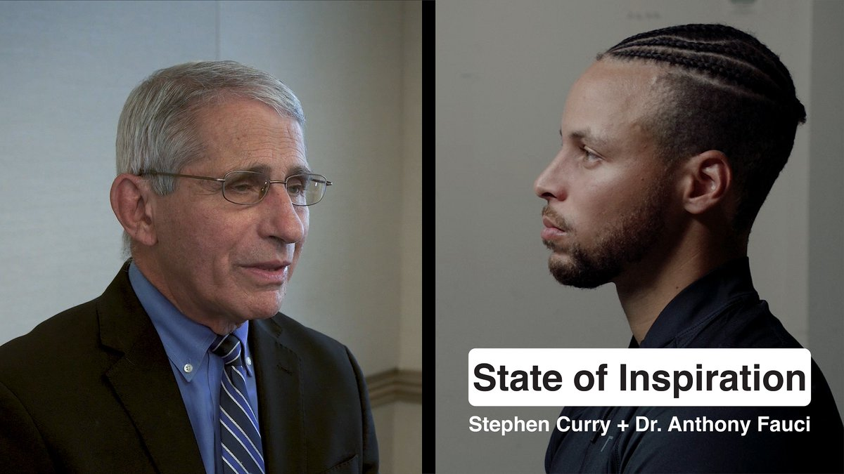 Even with his busy schedule, Dr. Fauci took the time to sit down with me (AGAIN) and talk about what we've gotten right and what we've gotten wrong. Let's continue to be positive! #StateOfInspiration