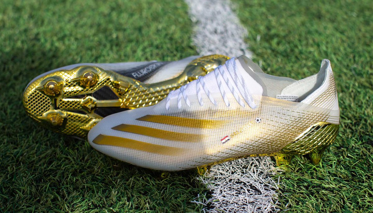 Mohamed Salahwill wear a special pair of Adidas boots in the Champions League this week after hitting 100 goals for the club in the Merseyside Derby against Everton on Saturday.#awlfc [mail]