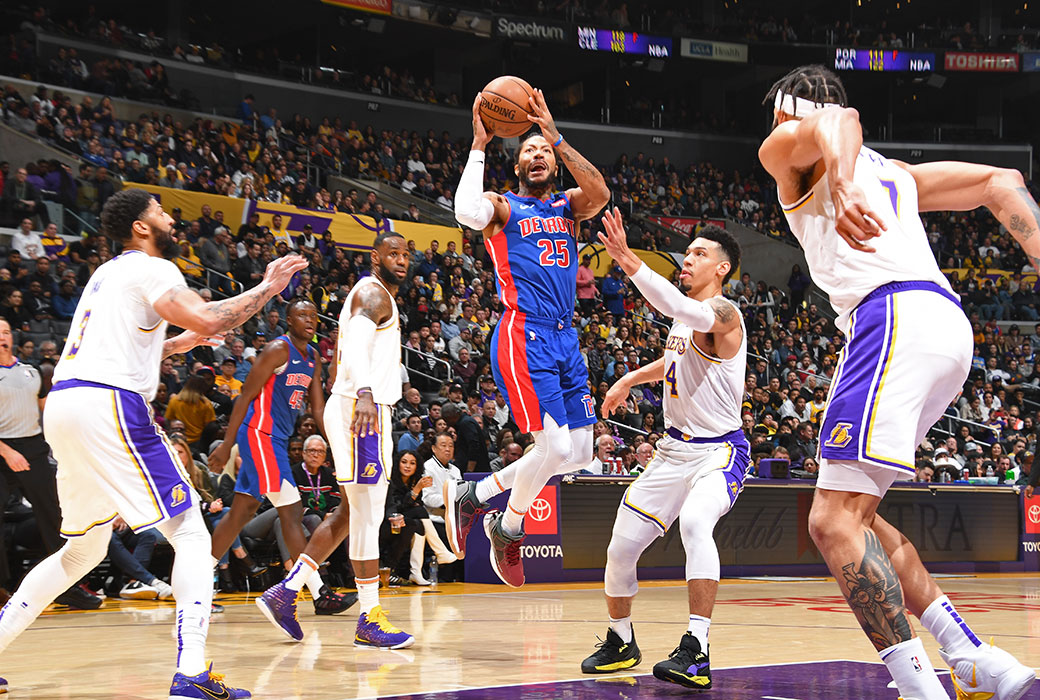 A trade to bring Derrick Rose to the Lakers is much more likely now than it was before the trade deadline, one NBA GM tells @SeanDeveney. Details: slam.ly/lakers-rose