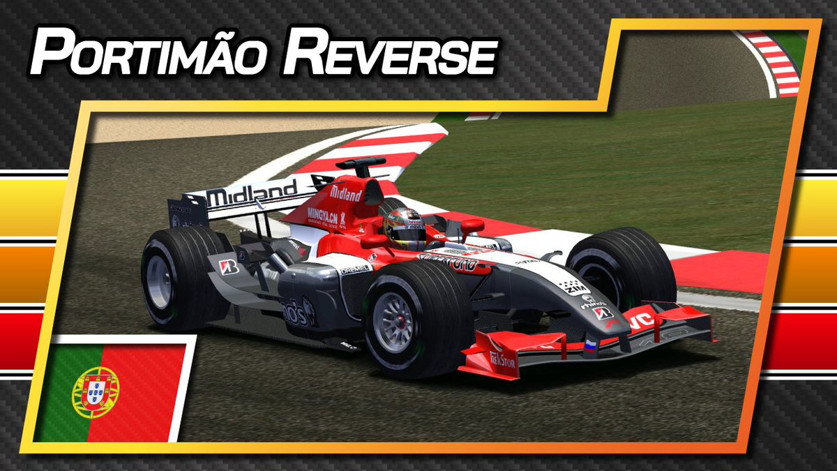 🇵🇹 ⏪ F1 lap at @AIAPortimao with @Tiagosworld18 Monteiro in the wrong way! 😲  👉 https://t.co/CFUEjXnNEg 👈  #F1 #Reverse #Onboard #Portimao #PortugueseGP #Portugal #F12006 #Midland #Monteiro #rFactor https://t.co/Ws7NJRf8oY