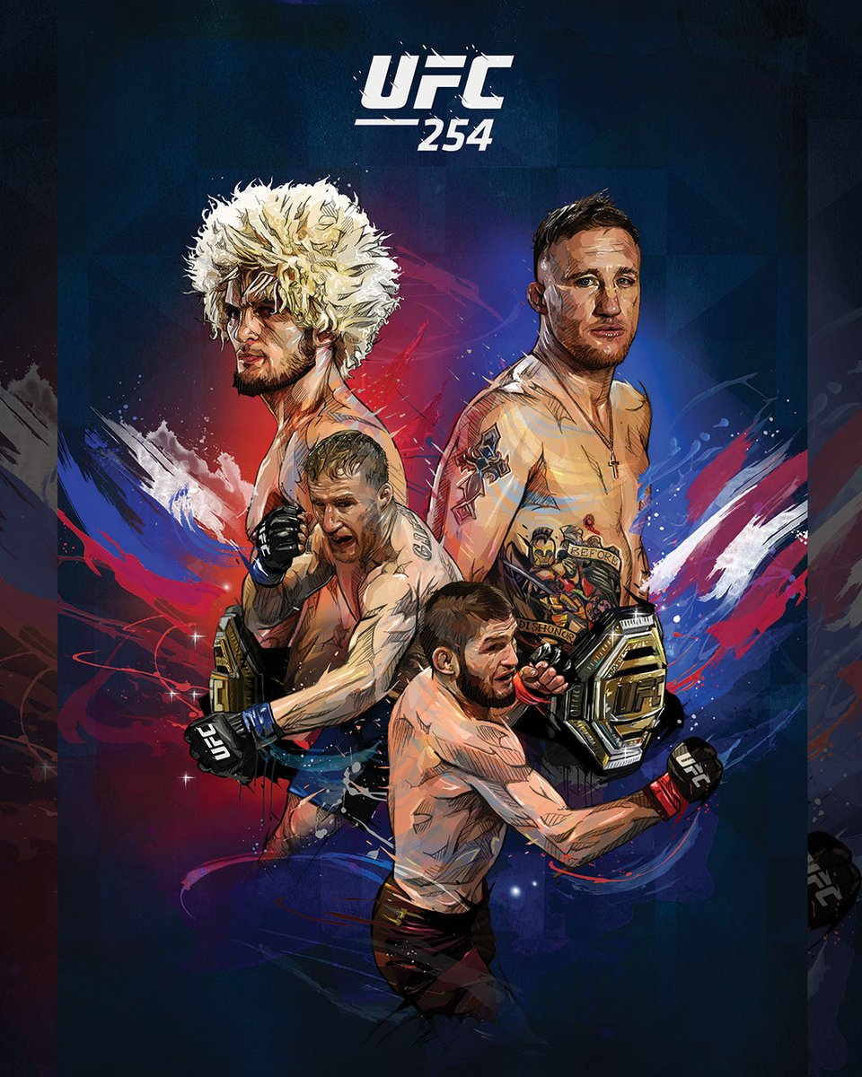 Plus que 4⃣ jours avant 🦅 The Eagle 🆚 The Highlight 📽!  Soyez blindés pour l'#UFC254 en commandant de la marchandise exclusive : https://t.co/VixpwAWqgu  🎨 : @YannDalon https://t.co/8NYcrjWnc1