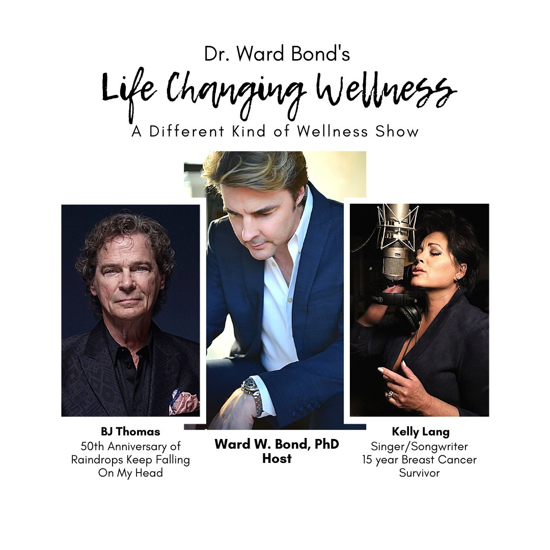 Very excited to be interviewing some icons of music next week on @DrWardBondTV Life Changing Wellness - BJ Thomas and Kelly Lang! Download our Life Changing Wellness Podcast on iTunes! https://t.co/PWyf8frE03 #countrymusic #musicindustry #lifechangingwellness https://t.co/ap9PDX9zMV