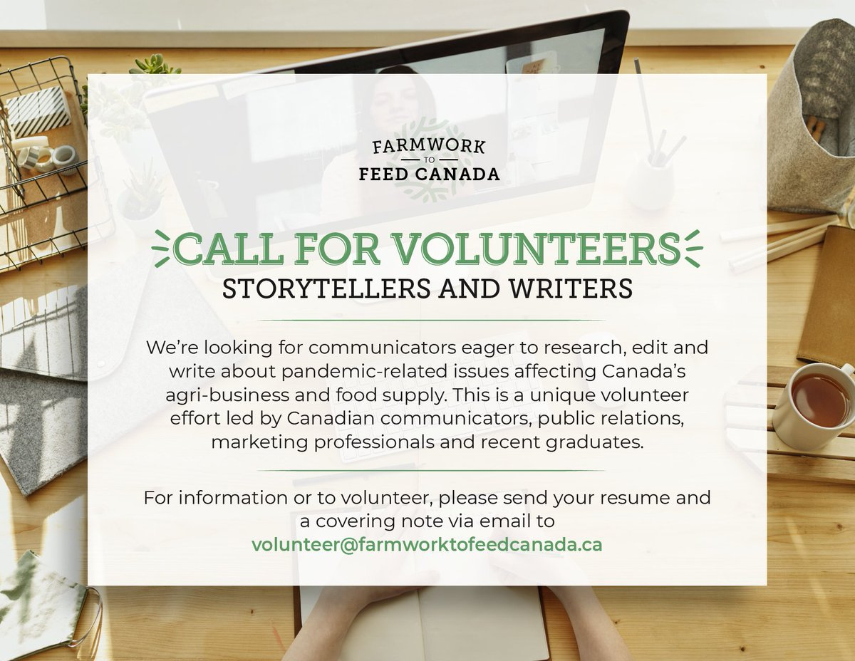 Do you have a knack for writing? We're looking for volunteers to join our storytelling team!   To find out more or check out other volunteer opportunities, follow the link below! 👇👇  https://t.co/4JkxsJJTqp https://t.co/8wXXdKwkrc