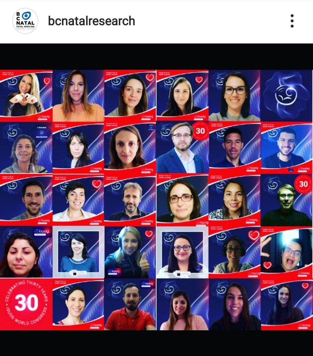 Group photo after a successful @ISUOG Virtual Congress. So happy to be part of @BCNatalResearch team.  #isuog2020 @GratacosEduard @FatimaCrispi @elisendaeixarch @IllaMiriam @crovetto_franci @japh19 @doctorafer @Raigam_Martinez @Paz_A_D @JezidMiranda @LinaYoussef17 @lucastrigo https://t.co/9AiQ5AyAHT