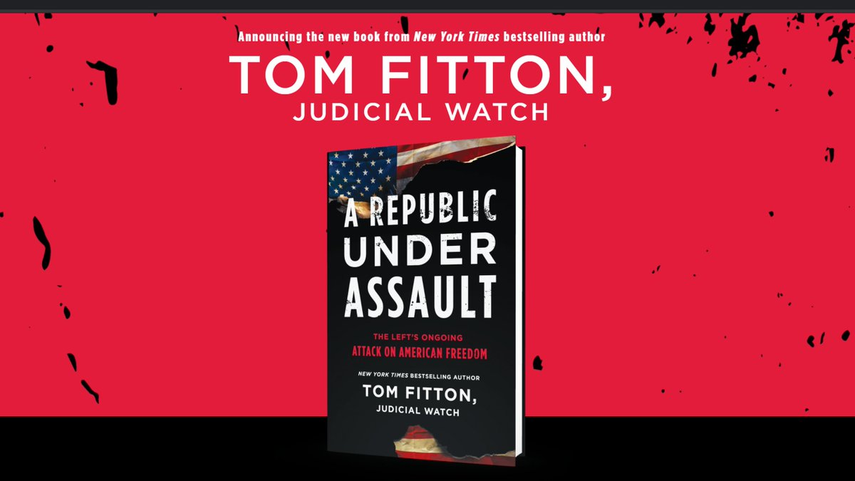 Image for the Tweet beginning: .@TomFitton's explosive new book, A