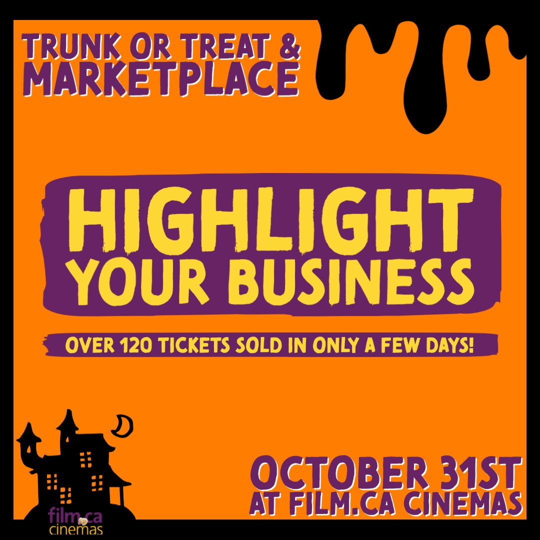 There's still time to apply to our Trunk or Treat event! 👻 Set up a table – advertise your product or service, and help make Halloween special for all the kids in the neighbourhood💜🧡  ✨   Go to https://t.co/3ciyGonAhR to apply! 📝   #halloween #trunkotrtreat https://t.co/tFyr1n5Aar