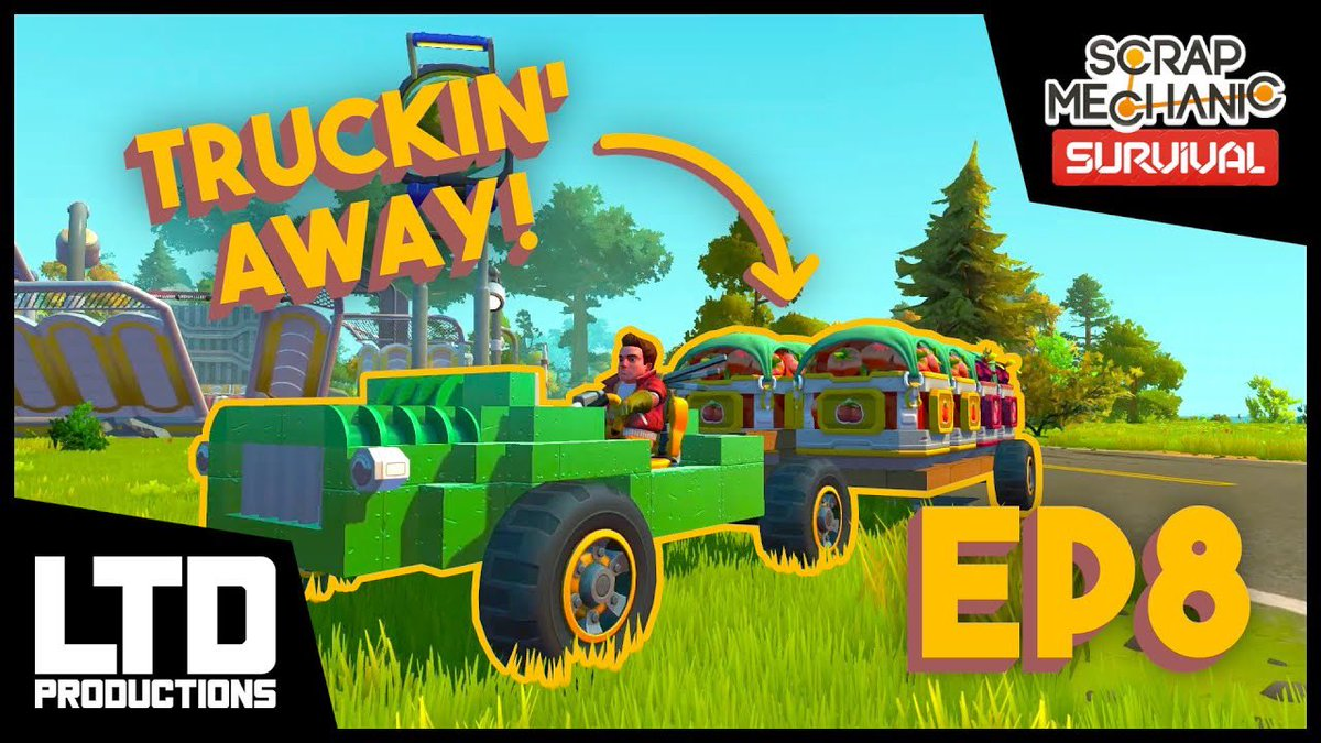 Time to haul some veggies! Our #ScrapMechanic Cinematic Gameplay Adventure continues, and answers one important question: will we make it. up. the. HILL?!  https://t.co/ertnnZTca5  #gaming #youtubechannel #gamingchannel #smallyoutubercommunity https://t.co/7VkwyM14pK
