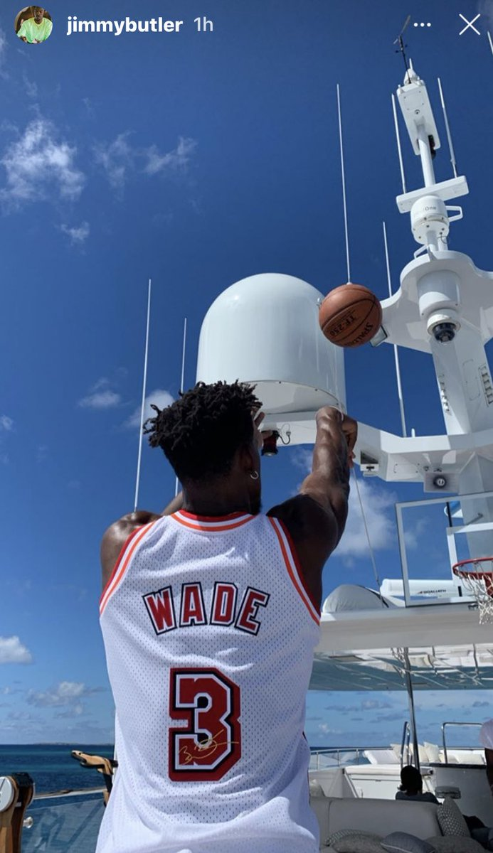 i, leaguefits, am waiting my turn to get shots up on a yacht.