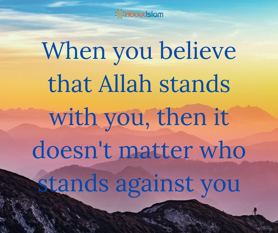 Allah stands with you!  #islamicquotes #faith  #hope https://t.co/RCiLkMIZ5b