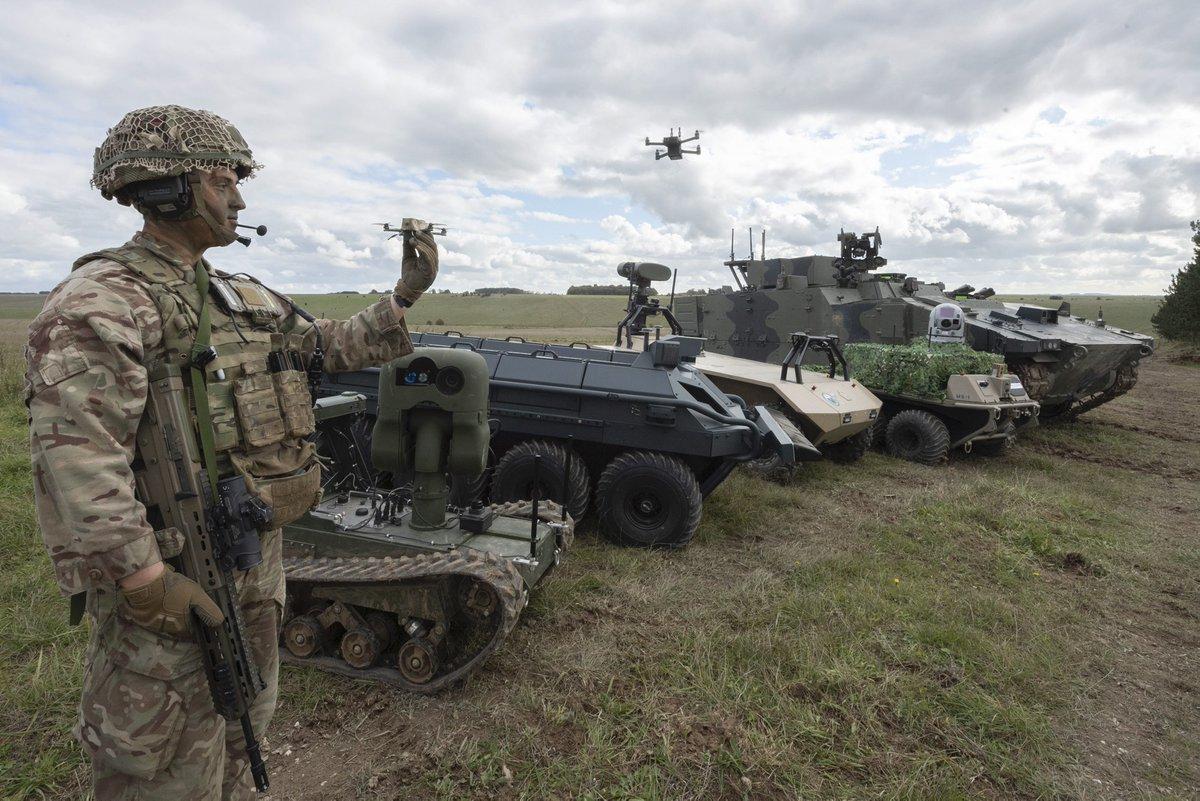 The Army Warfighting Experiment at Salisbury Plain showcases a vast range of futuristic technology and highlights what can be achieved by putting science and technology first.