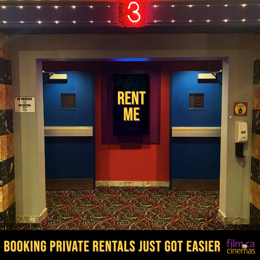 See one of the movies currently playing at our cinema for a private screening during weekdays! It's as easy as buying a ticket 🎟 You can book it moments before and we even offer walk-ins 🎥🗓     Rent a cinema here: https://t.co/PfiK2BvHvZ 🎞   #privaterentals #excitingnews https://t.co/pxHZjMS1Cr