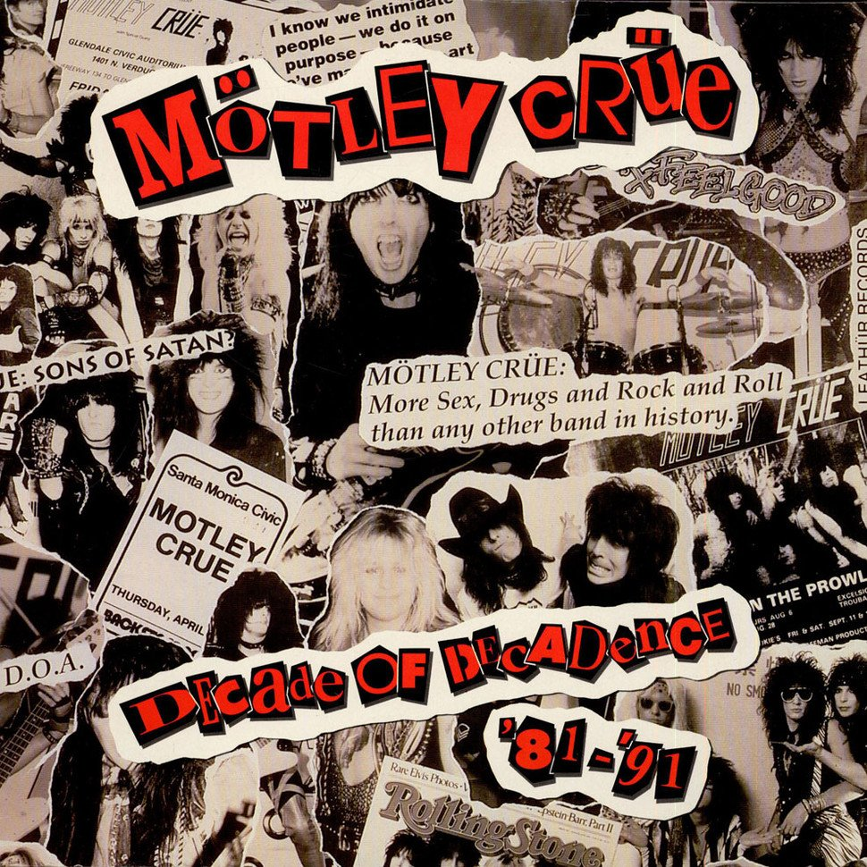 On this day in Rock music history Oct. 19th 1991, Motley Crue released their greatest hits compilation Decade of Decadence. It peaked at #2 on the Billboard 200 chart. It is certified 2xs platinum by the RIAA  #motleycrue #metal #heavymetal #hardrock #hairmetal #rock #classicrock https://t.co/Shvfr509qL