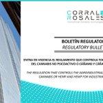 Image for the Tweet beginning: #Regulatorio 📑 Entra en vigencia