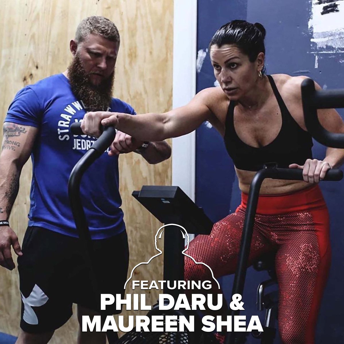 Our boy @DaruStrong is back in the building, this time with extra back up, 2x Wold Champion Boxer, Maureen Shea! Full ep here: https://t.co/xFdwC420CJ https://t.co/0hnQ8hQebM