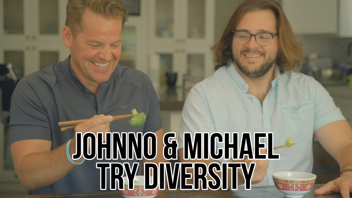 """.@Johnno_Wilson and Michael feel like """"Johnno and Michael Try"""" isn't diverse enough, but luckily they get some enlightening help from their friends."""