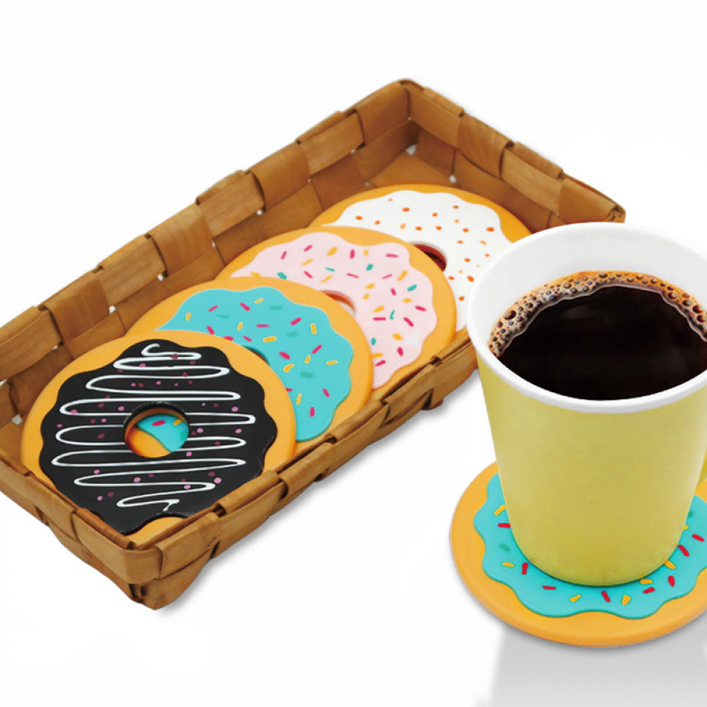 Cute Donut Shaped Heat-Resistant Eco-Friendly Plastic Cup Mats Set  $ 19.99 & FREE Shipping   #bedroom #architect #inspo #living #white #details #fun #accs #outside https://t.co/rGZrsZNRN8 https://t.co/Cwv12RdsDB